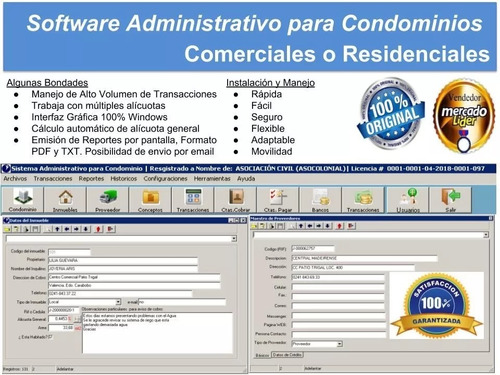 Software Administrativo Condominios - Venta & Asesoría
