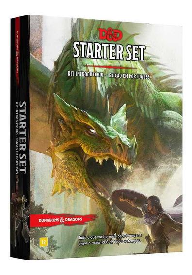 Dungeons Dragons Kit Introdutorio Starter Set Portugues Rpg