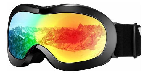 Imagen 1 de 7 de Velazzio Gafas De Esquí Para Niños, Gafas De Snowboard, G