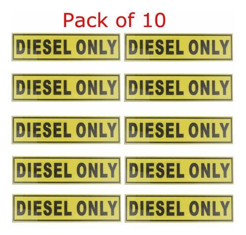 31*156mm Diesel Solo Vinilo Adhesivo De Seguridad Etiqueta I