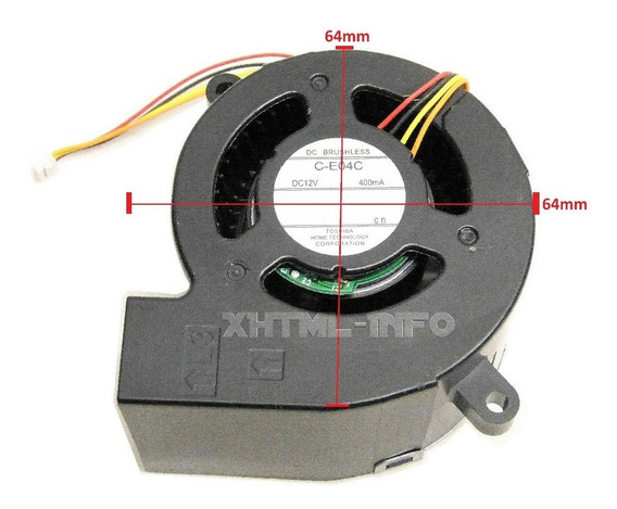Cooler Do Bloco Otico Projetor Epson S12+ H430a X14+ H434a