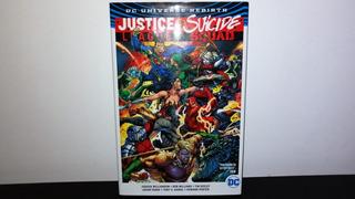 Justice League Vs Suicide Squad / Dc Deluxe / Pasta Dura.
