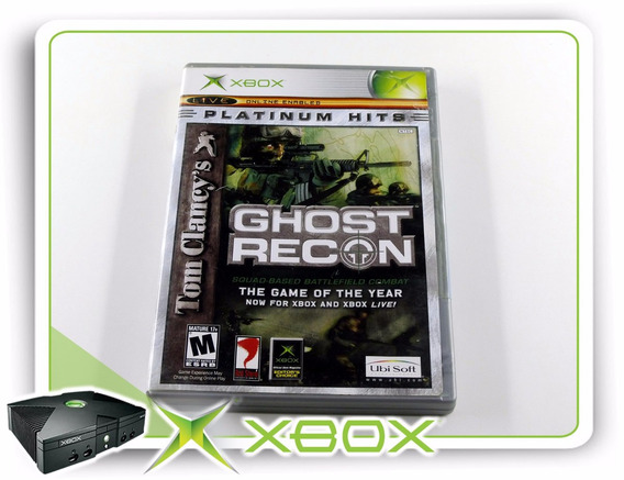 Xbox Tom Clancys Ghost Recon Xbox Clássico Original Ntsc