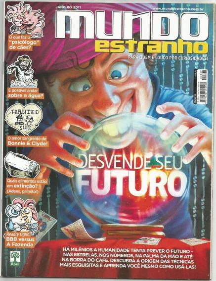 Revista Mundo Estranho Futuro Ed.107 Janeiro 2011