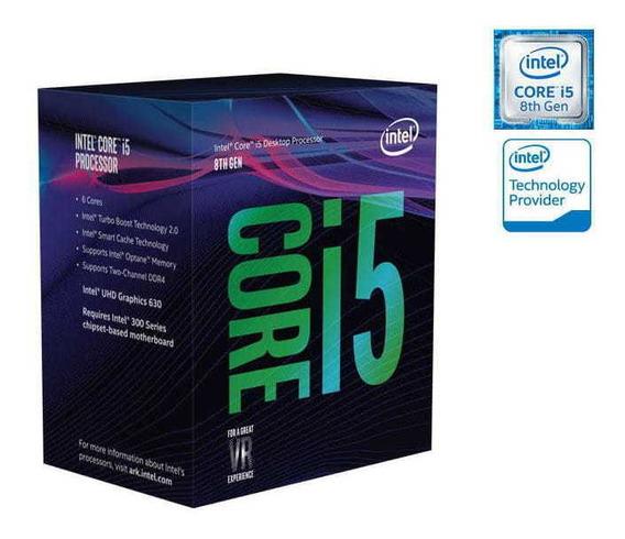 Processador Core I5 8600k Lga 1151 Intel Hexa Core Bx80684i58600k / Nfe