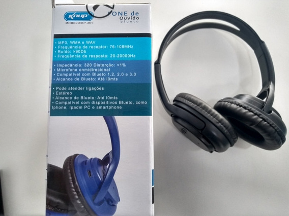 Fone Bluetooth Top De Linha