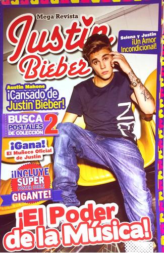 Mega Revista Justin Bieber Coleccion Completa 15 Tomos