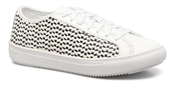 Zapatillas Mujer Le Coq Sportif Jane Woven Opt/white-black