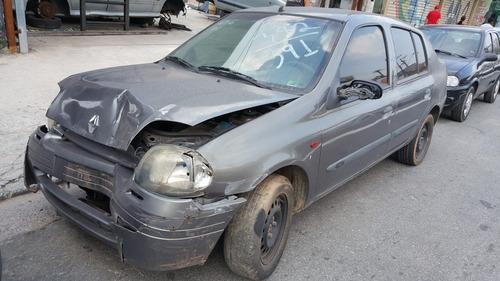 Sucata Clio Rn 1.6 16v Sedan 2000/2001 (só Peças)