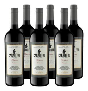 Vino Caballero De La Cepa Reserva Malbec Caja X6 750 Ml
