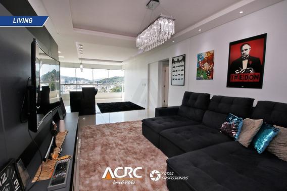 Acrc Imóveis - Apartamento Semi Mobiliado À Venda No Bairro Da Velha Em Bluemenau - Ap03359 - 34973671
