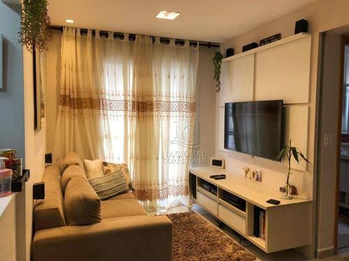 Imagem 1 de 30 de Apartamento À Venda, 50 M² Por R$ 320.000,00 - Utinga - Santo André/sp - Ap12664