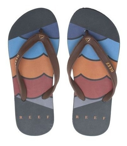 Chinelo Switchfoot Foundation Black Ultra Resistente Reef