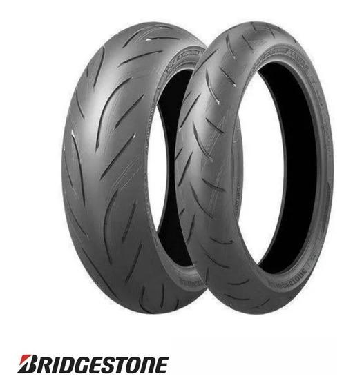 Par De Pneus Bridgestone Battlax S21 120/70-17 + 190/50-17