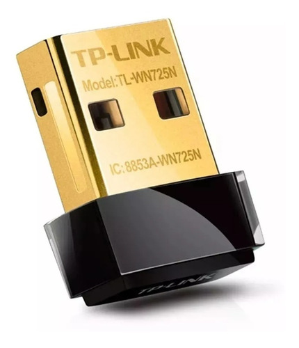 Mini Placa De Red Wifi Usb Inalambrica Tp-link 150 Mbps