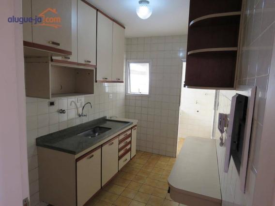 Apartamento 3 Dormitórios, 77 M² Por R$ 900/mês - Jardim Paulista - São José Dos Campos/sp - Ap7459