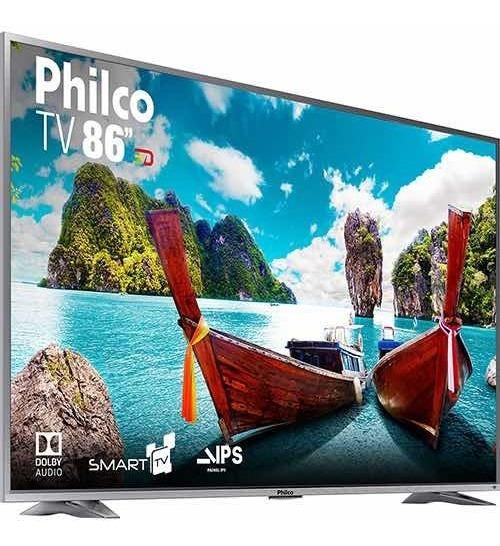 Smart Tv Led 86 Philco Ptv86e30dswnt Ultra Hd 4k