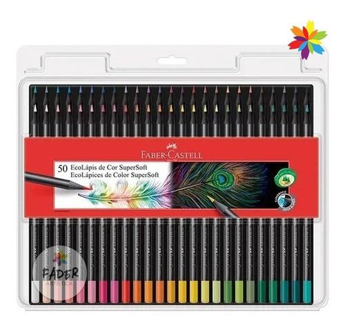 Lapices De Color Faber Castell Super Soft X 50  Barrio Norte