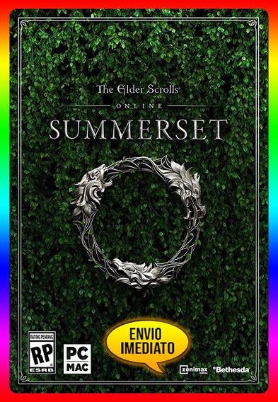 The Elder Scrolls Summerset Pc - Teso Key (envio Já)