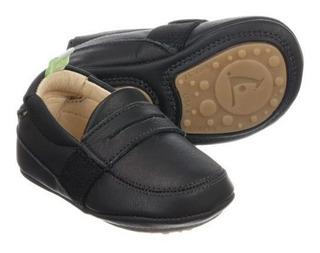 Sapato Mocassim Infantil Em Couro Sharpy - Tip Toey Joey