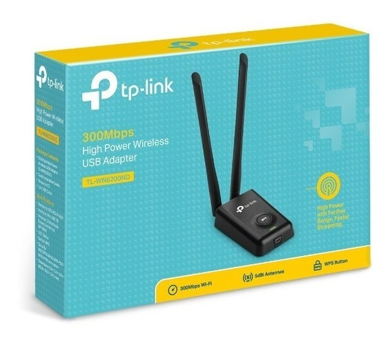 Placa Red Rompe Muros Usb Wifi Tp Link 8200nd Largo Alcance