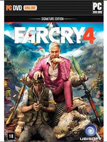 Far Cry 4 Signature Edition Pc Mídia Física Novo Lacrado
