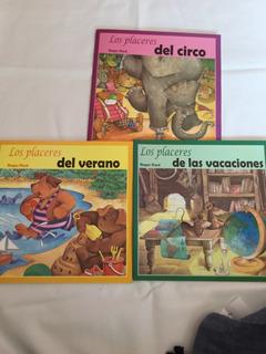 Paquete 3 Libros Los Placeres Del Circo, Del Verano, Vaca..
