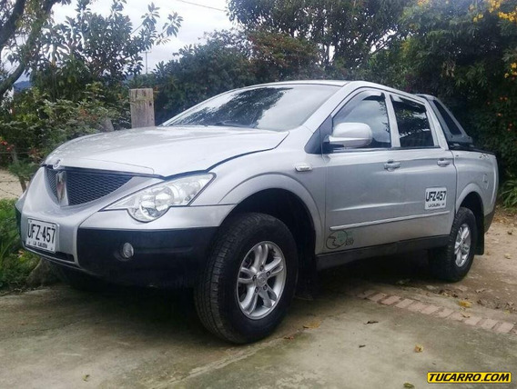 Ssangyong Actyon Sports Mt 2000cc Td 4x4 Ab Abs