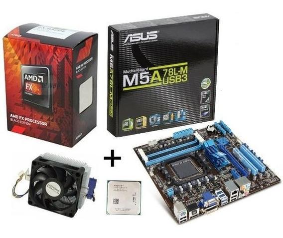 Kit Gamer - Placa Mãe + Processador + Cooler + Brindes