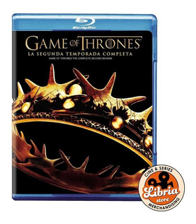 Bluray Original Game Of Thrones Temporada 2 Juegos De Tronos