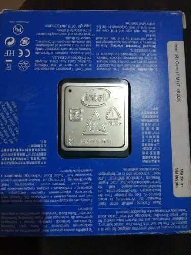 Processador Intel Core I7 4820k 3.7 Ghz 10mb Lga 2011 120w