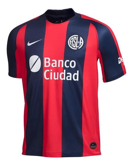 Camiseta Nike Hombre San Lorenzo Stadium Home 2019 2019238-d