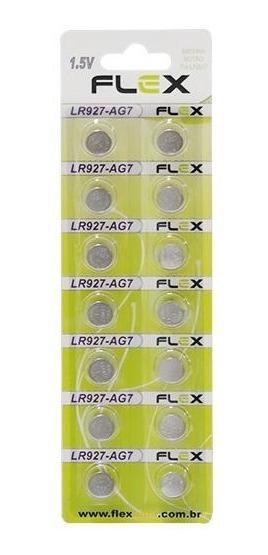Bateria De Litio Lr927 Ag7 1,5v Blister Com 14 Un