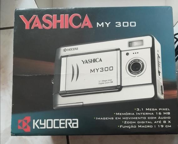 Máquina Fotográfica Para Reparo*** Yashica My 300 Kyocera