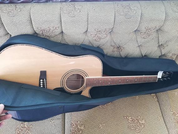Guitarra Electroacústica Cort Ad880 Ce Nat