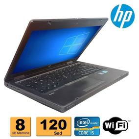 Notebook Hp Probook 6470b Core I5 8gb Ssd 120gb Win 7 Pro