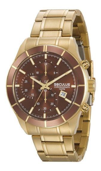 Relógio Masculino Seculus 23600gpsvda2 Black Friday