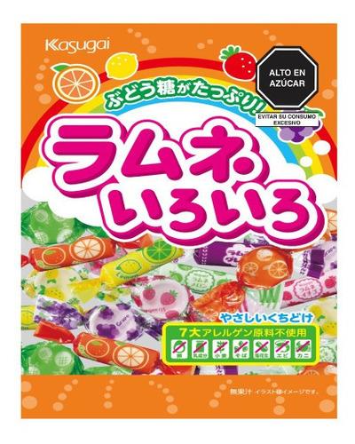 Imagen 1 de 4 de Dulce Kasugai Fruit Ramune Iro Iro Japones