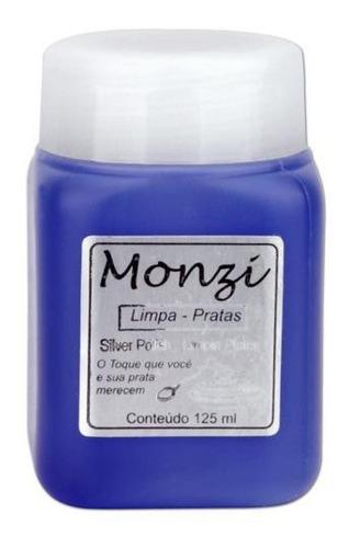Limpa Prata 125 Ml + Pacote Com 3 Unidades - 100% Original