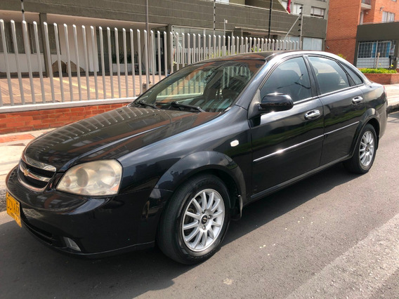 Chevrolet Optra 1.8 Limited 2007 Sedán Negro Full Equipo+