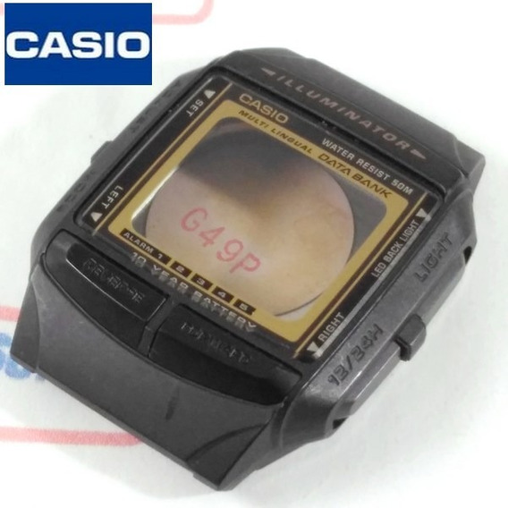 Caixa Relogio Casio Db-36 Completa Serie Ouro Peça Original