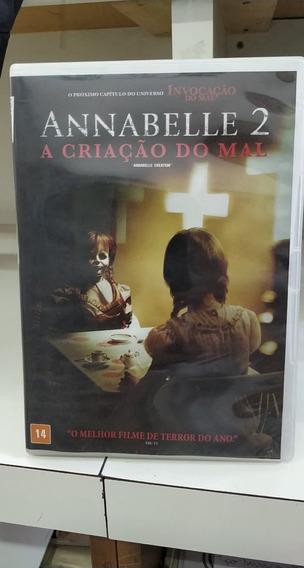 Anabelle 2 -a Criação Do Mal -dvd - Original !