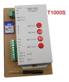 Controlador T1000s Led Pixel Ws2811 Ws2812b Programable Dj