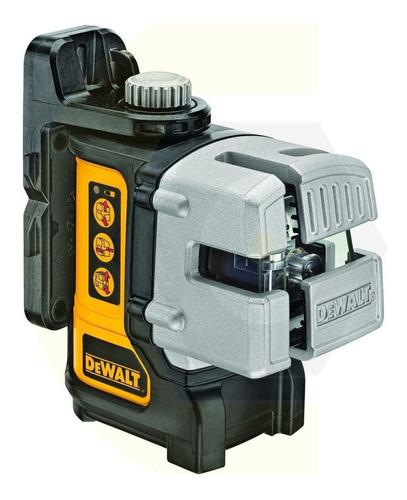 Imagen 1 de 6 de Nivel Laser Autonivelante Dewalt Proyeccion Cruz Dw089k 30mt