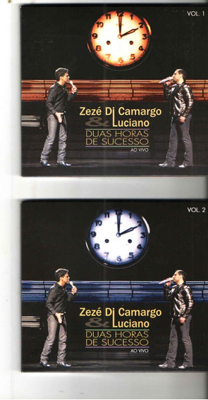 Zezé Di Camargo & Luciano - Duas Horas Sucesso Ao Vivo1 E 2