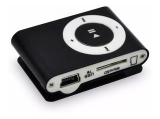 Reproductor Mp3 De 32gb Shuffle Con Usb Y Auriculares