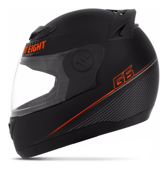 Capacete Masculino Laranja 788 G6 Limited Edition Pro Tork