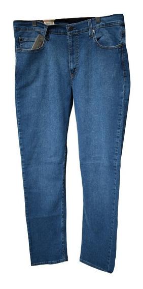 Jean Hombre 511 Tm Slim Fit Azul Tiro Corto Elastizado