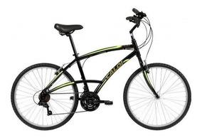 Bicicleta Caloi 100 Comfort, Aro 26, 21 Marchas, Masculina