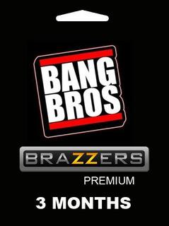 Pack Bangbros Y Brazzers Premium 3 Meses